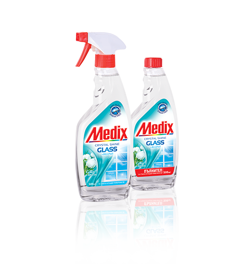 MEDIX GLASS Cotton Breeze - Котън Брийз - с помпа (прозрачен)