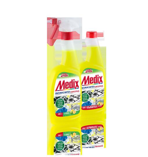 MEDIX MULTI ACTION Citrus (universal) - обезмаслител с помпа, пълнител