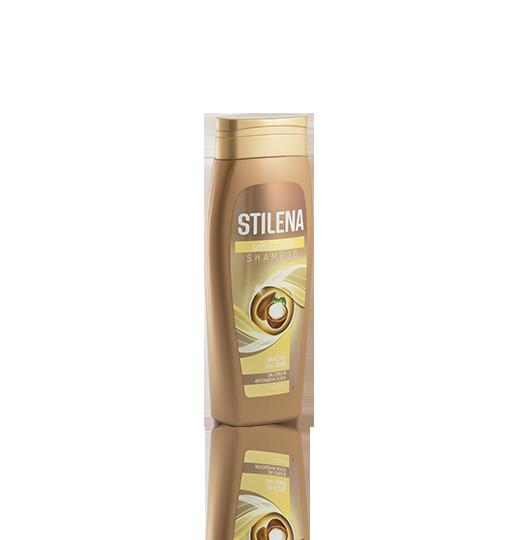 STILENA SHAMPOO Soft & Shine – за суха и изтощена коса