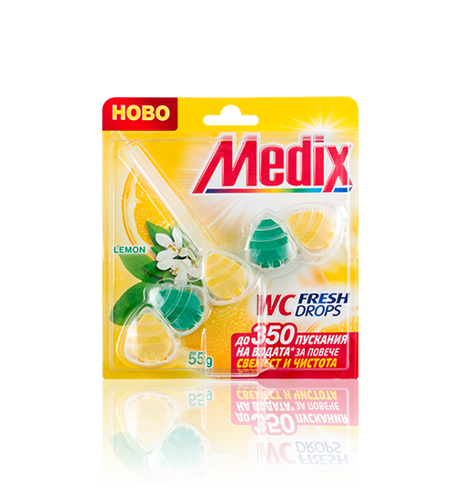 MEDIX WC FRESH DROPS Lemon