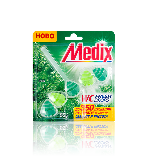 MEDIX WC FRESH DROPS Pine