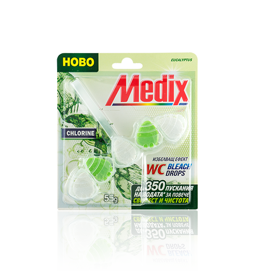 MEDIX WC Bleach Drops Eucalyptus