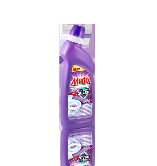 MEDIX WC GEL TOTAL POWER GUARD Lavender & Mint - Лавандула и Мента (лилав)