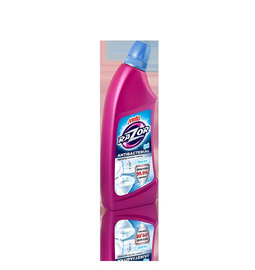 MEDIX RAZOR Gel Ocean - all-purpose disinfectant gel