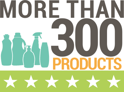 More than 300 products