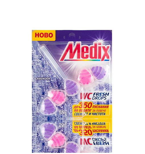 MEDIX WC Fresh Drops Lavender - Лавандула