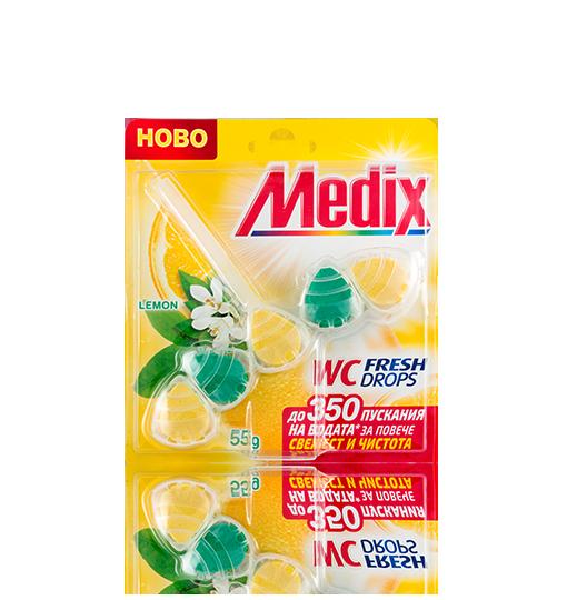 MEDIX WC Fresh Drops Lemon - EN