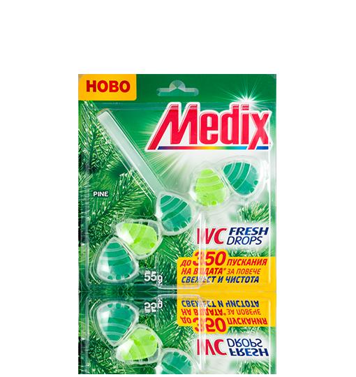 MEDIX WC 5 Fresh Drops Pine - Бор