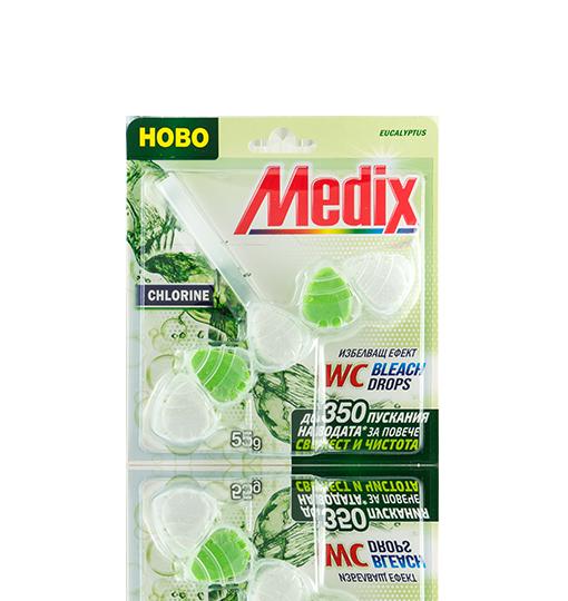 MEDIX WC Bleach Drops Eucalyptus