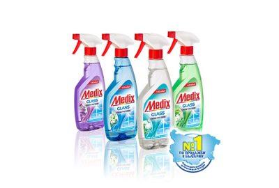 Medix Glass – марка номер едно по продажби в България!*